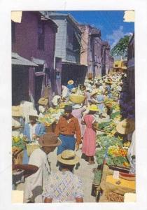 Vegetable Market, Bridgetwon, Barbados, B.W.I. 30-50s