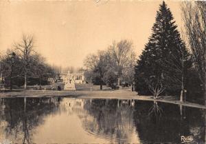 Vintage France Postcard, Montpellier, Gardens Jardins de L'Esplanade 19C