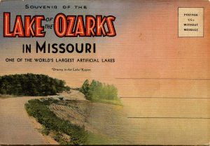 Folder -  Missouri, Lake of the Ozarks    24 views + narrative + map