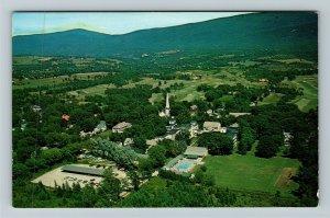 Manchester VT-Vermont, Equinox House, Golf Course, Advertising, Chrome Postcard