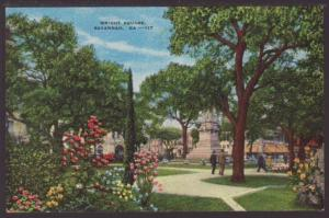 Wright Square,Savannah,GA Postcard