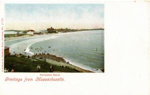 MA - Nantasket Beach. Bird's Eye View
