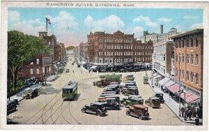 Haverhill, Mass, Washington Square