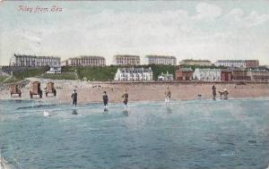 Filey from the Sea, Yorkshire, England, United Kingdom, PU-1906