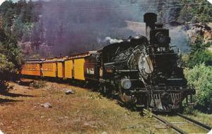 Engine 476 on Last Narrow Gauge Train - Durango to Silverton CO, Colorado