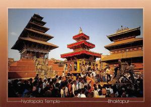 Nepal Nyatapola Temple Bhaktapur