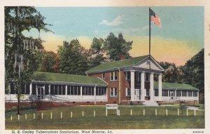 WEST MONROE , Louisiana , 1910s ; Tuberculosis Sanitorium