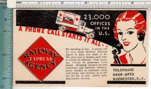 Railway Express Agency, Rochester NY