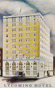 Pennsylvania Williamsport Home Of Little League Baseball The Lycoming Hotel