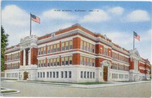 Linen of High School in Elkhart Indiana IN