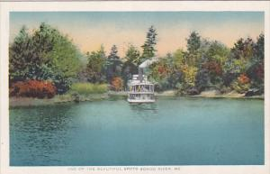 Steam Boat, One of the Beautiful Spots, Songo River, Maine, 00-10´s