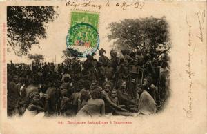 CPA Bourjanes Antandroys a Sanemena MADAGASCAR (819990)