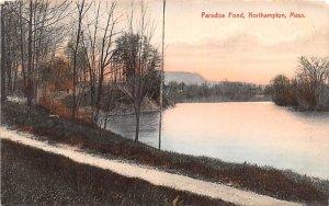 Paradise Pond Northampton, Massachusetts Postcard