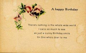 Greeting - Birthday