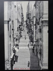 c1918 Malta: Strada St. Lucia
