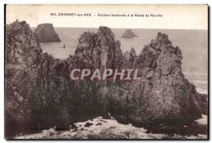 Camaret sur Mer - festooned Rochers the Pointe de Pen-Hir - Old Postcard