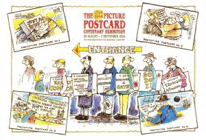 Limited Edition Postcard 1994  The Postcard Queue  Centenary Exhibition