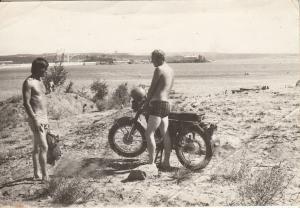 Photo men motorcycle social history
