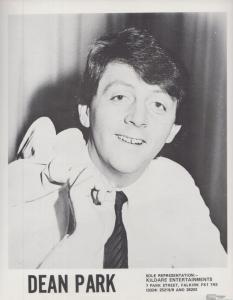 Dean Park Scottish Comedian Entertainer Early Career Rare Publicity Media Photo