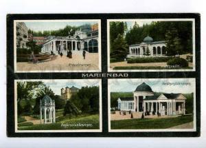 236464 CZECH Marianske Lazne Marienbad 1909 year RPPC RUSSIA