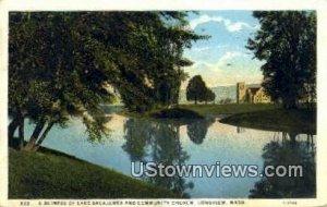 Lake Sacajawea & Community Church - Longview, Washington
