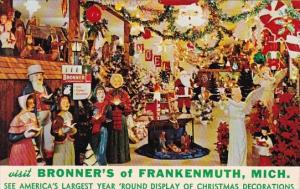 Visit Bronner's Of Frankenmuth Michigan