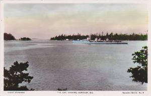 RP, The Cap, Oceanliner, Nanaimo Harbour, British Columbia, Canada, 1920-1940s