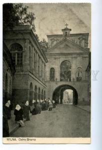 158136 Lithuania Vilnius WILNA Ostra Brama Gate of Dawn PRAYER
