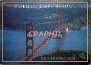 Postcard Modern San Francisco Golden Gate Bridge