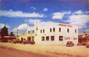 OASIS HOTEL Highway 40 Roadside Oasis, Nevada c1940s Chrome Vintage Postcard