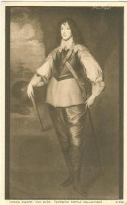 Prince Rupert, Van Dyck, old unused Postcard