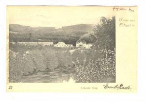 Gruss aus Lobau i. S. , Austria, PU-1902 : Lobauer Berg
