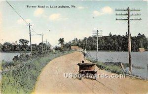 Turner Road in Lake Auburn, Maine