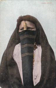 Egypt Cairo Femme Arabe Woman In Traditional Costume
