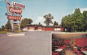 Hotel-Motel Crystal , St-Janvier , Quebec, Canada , PU-1968