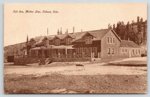 Tolland CO~Toll Inn~Moffat Line~West All They Said Would Be~1909 Arrow Cancel