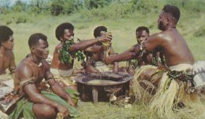 Yanqona Ceremony , Fiji , 40-60s