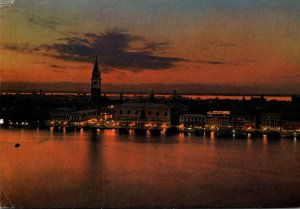 Italy Venezia At Night 1977