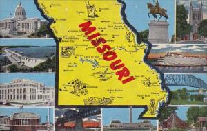 Missouri Map Of Missouri