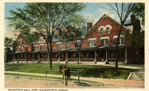 KS - Fort Leavenworth. Schoffield Hall