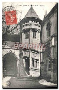 Postcard Old Tours Cloister of Psalette