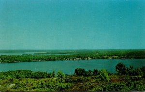 Maine Belgrade Lakes View From Blueberry Hill Lookout