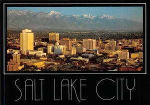 USA Salt Lake City Utah Mountain Panorama