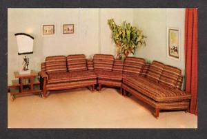 PA Eagle Upholstering Co Company Philadelphia Pennsylvania Penn Postcard Ad PC