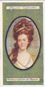 Player Vintage Cigarette Card Miniatures No 5 Countess Of Eglinton   1923