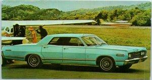 1968 MERCURY PARK LANE 4-Door Hardtop Postcard MERLIN MOTOR COMPANY Camden NJ