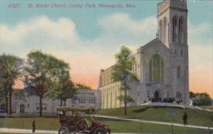 Church St Marks Church Loring Park Minneapolis Minnesota 1913