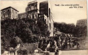 CPA Tivoli Una veduta del giardino nella Villa d'Este . ITALY (545901)