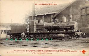 1910 Chemin de Fer du Midi France PC: Compound Locomotive (Collection Fluery)