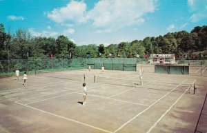 New York Kiamesha Lake Concord Hotel Tennis Courts sk6296